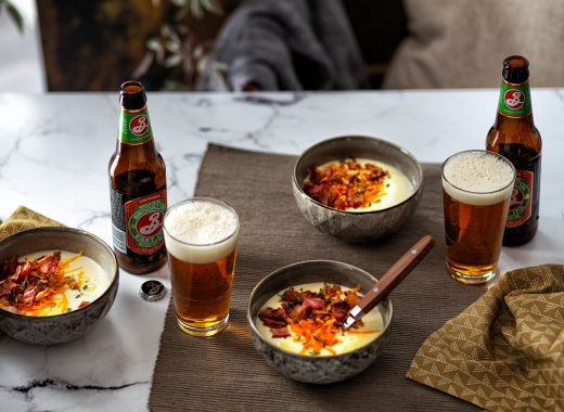 Goedgevulde Aardappelsoep met spek & Kaas
