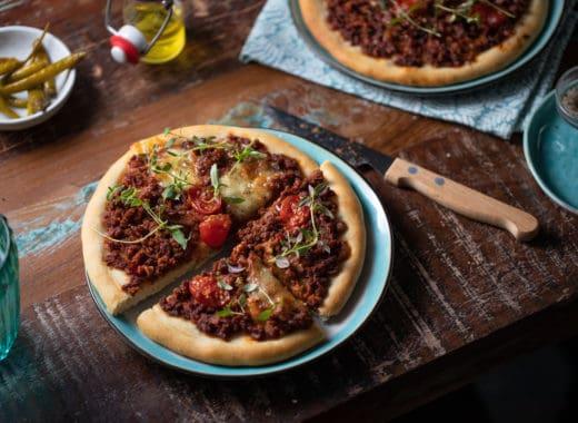 Vegetarische Pizza Bolognaise