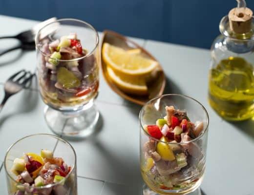 Haringsalade a la Foodblabla