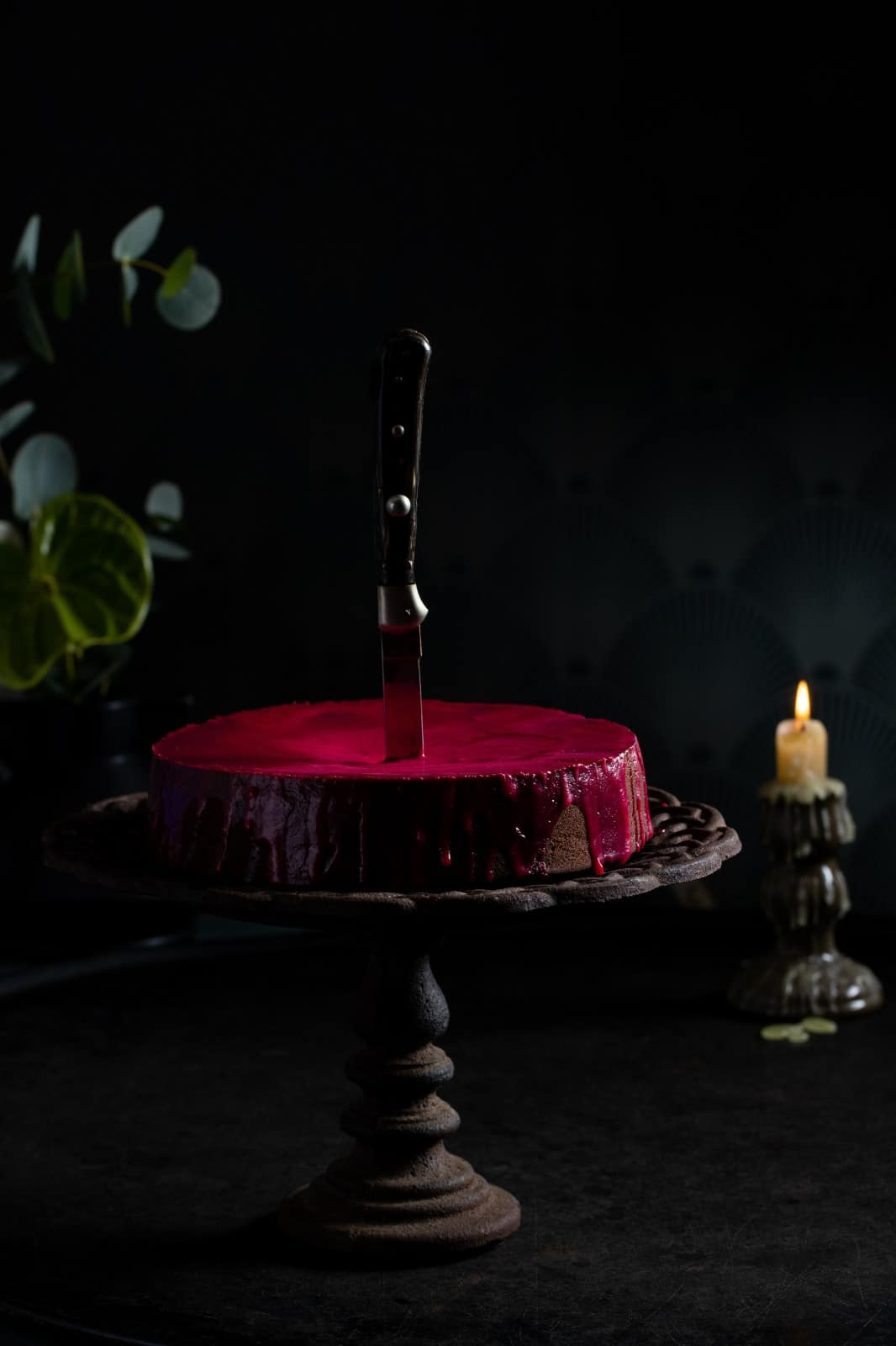 Bloody Chocolate Cake