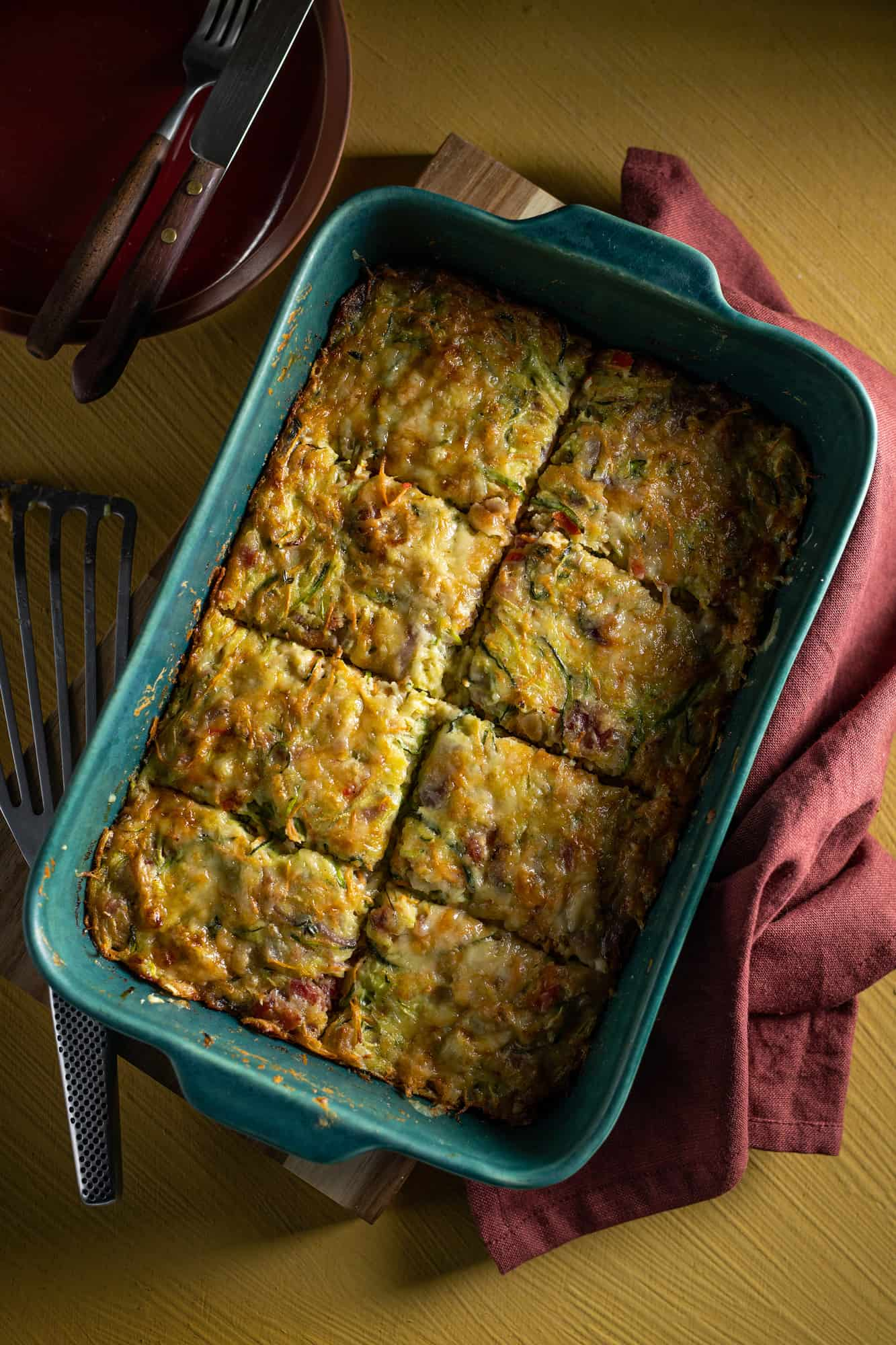 Courgette Wortel Baksel