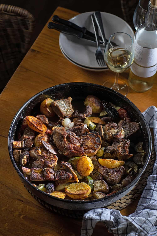 Foodblabla traditionele Peka kalfsvlees Kroatie